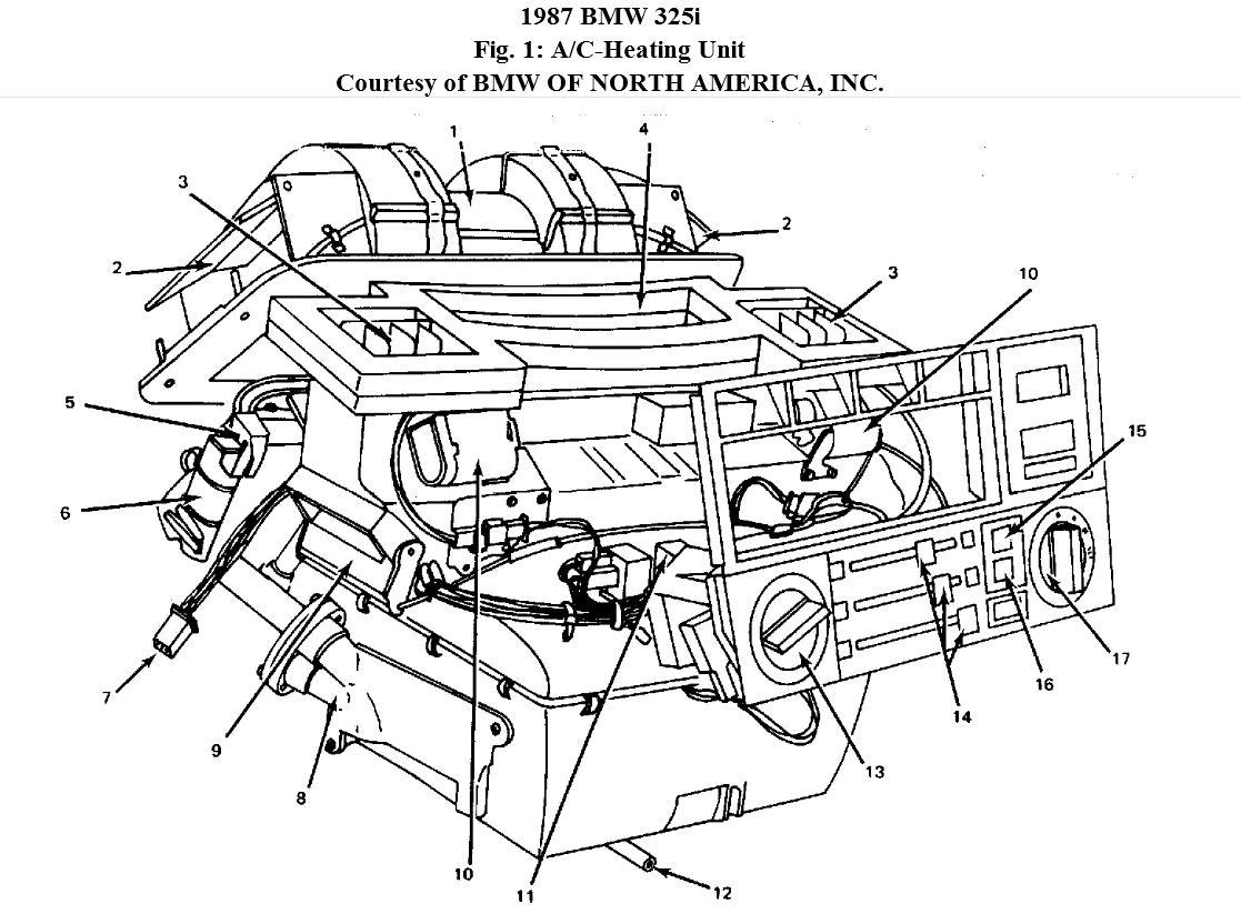 1987 Bmw 325i Fuse Diagram