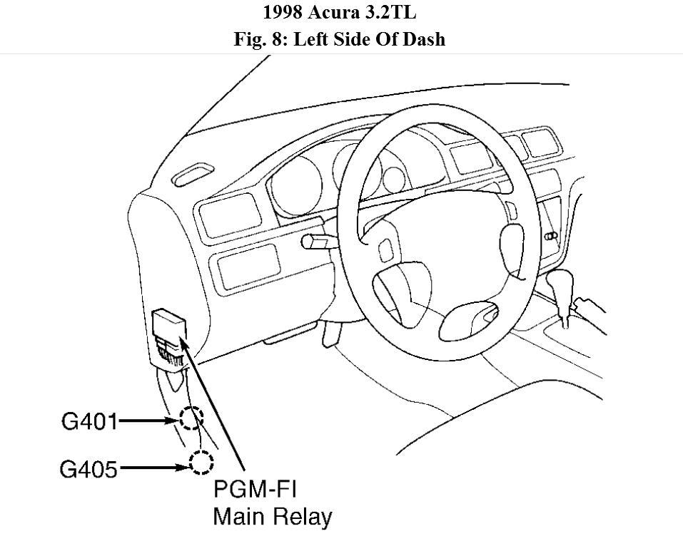 Acura Fuel Pump Diagram Wiring Diagram