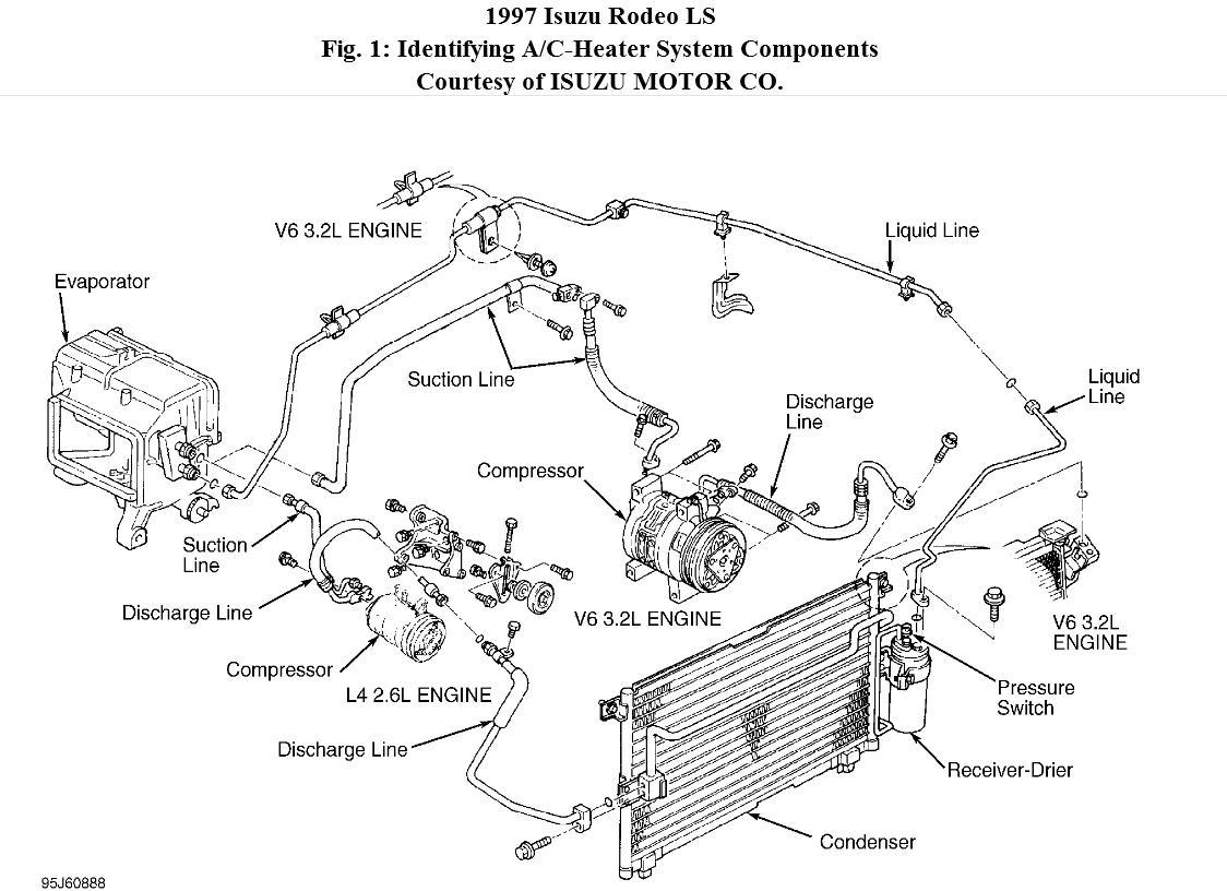 isuzu 2.3 vacuum diagram
