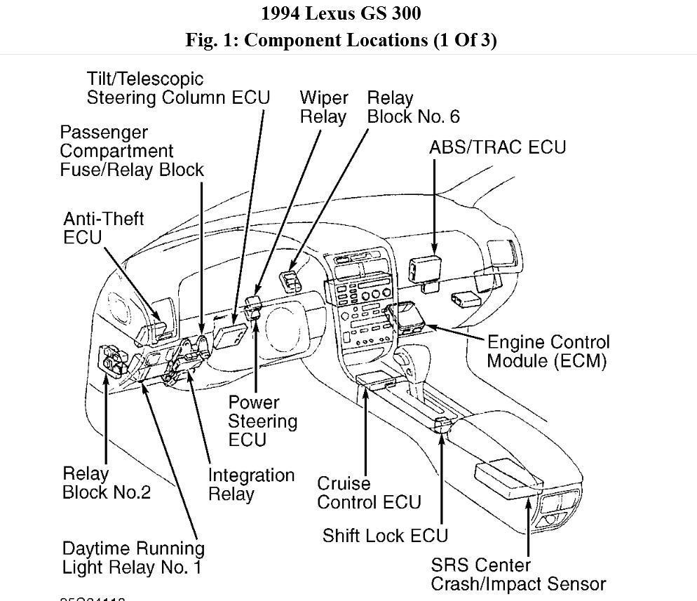 lexus cruise control diagram