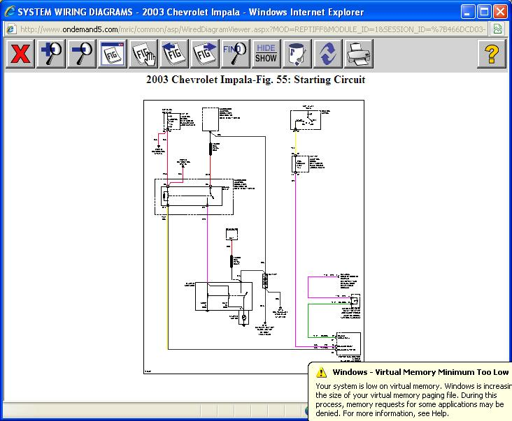 Need Simplified Circuit Diagram Car Is 2003 Impala, 38- Would