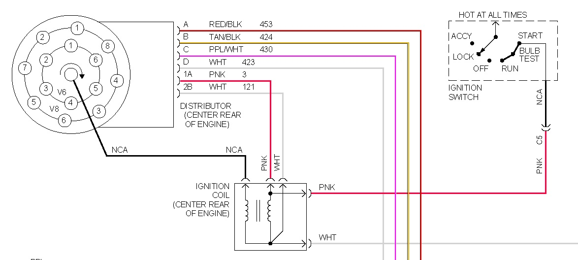 Chevrolet Ignition Wiring Wiring Diagram