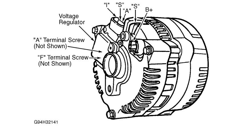 1 wire alternator not charging