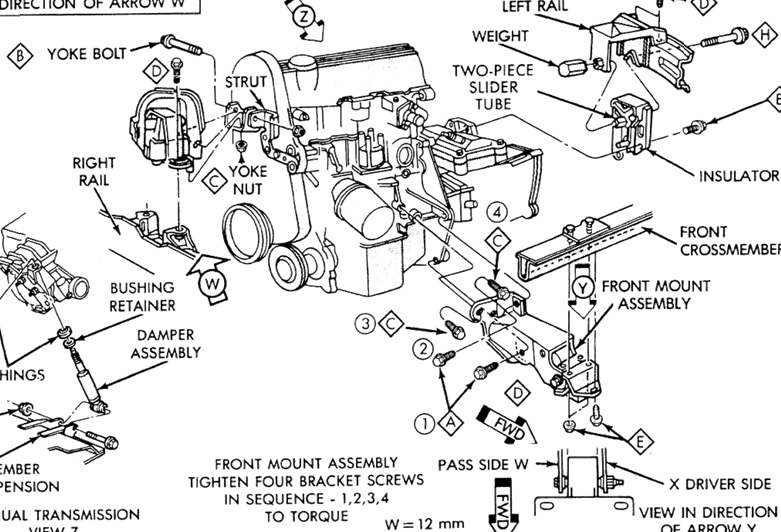 1992 plymouth voyager engine diagram