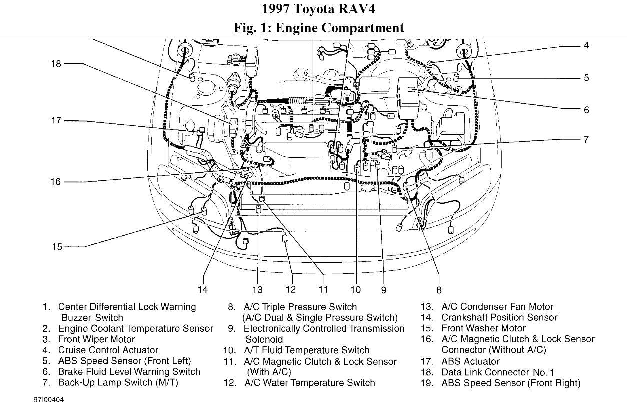 diagram of 2006 rav 4 cylinder engine