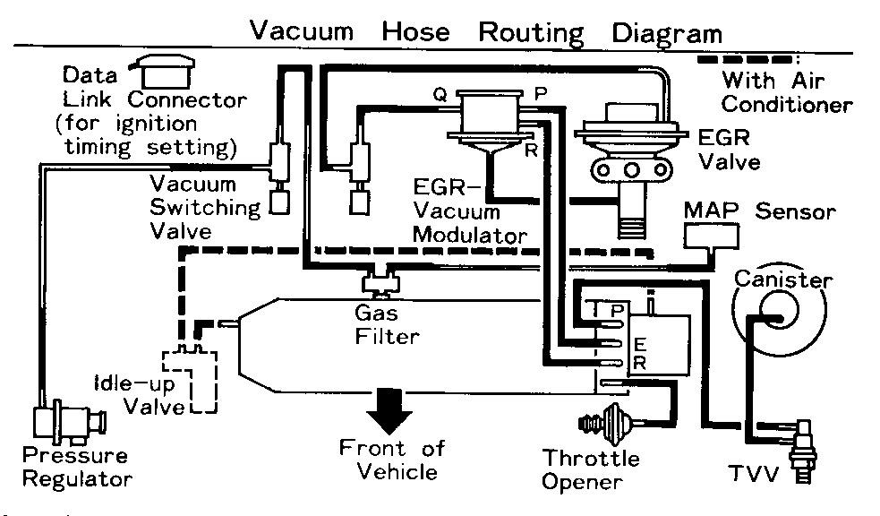 toyota vacuum hose