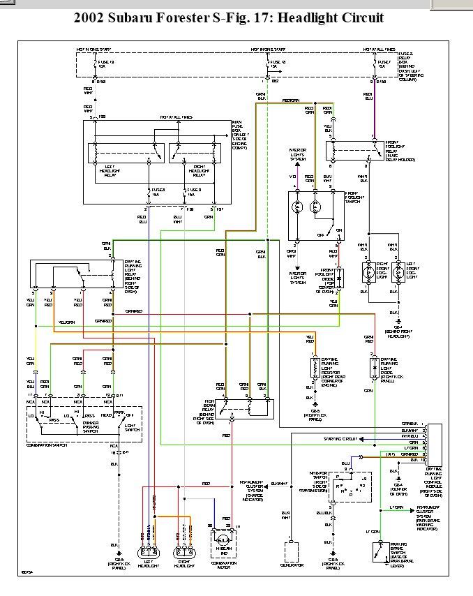2001 Focus Tail Light Wiring electrical wiring diagrams