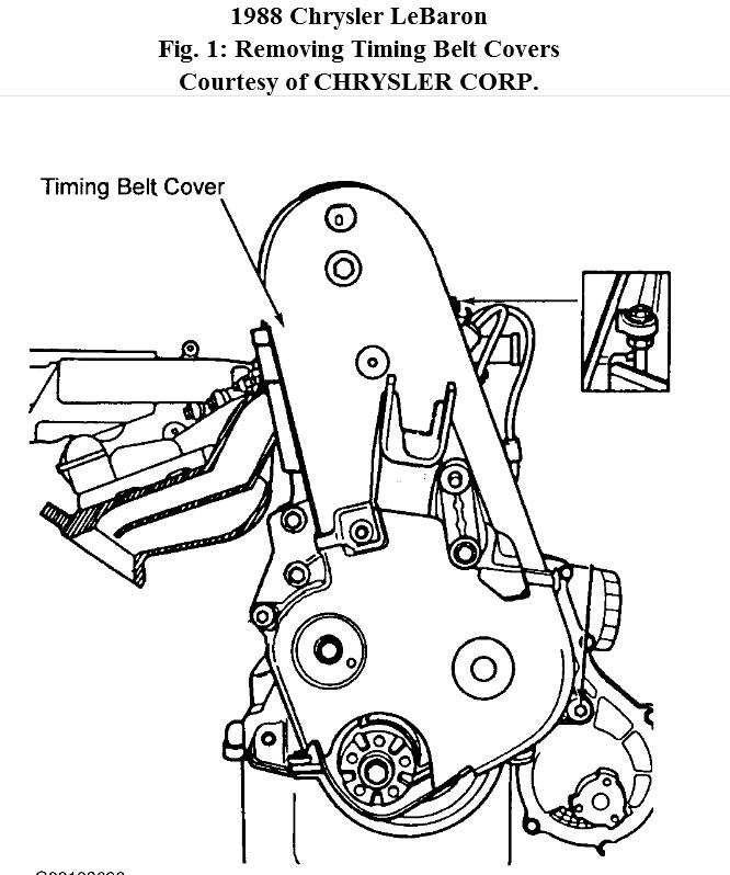 chrysler timing belt tension tool
