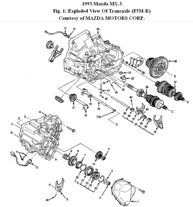 automotive wiring diagrams 1998 mazda mx