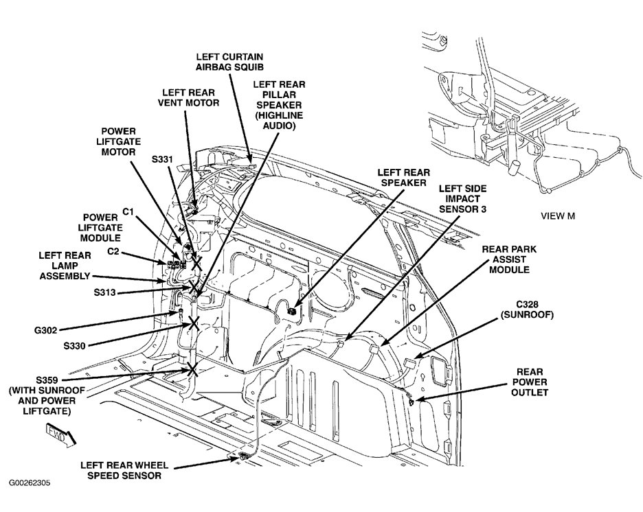 wiring diagram 2006 chrysler town and country