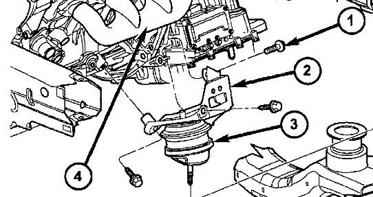 2006 buick rendezvous Motor diagram