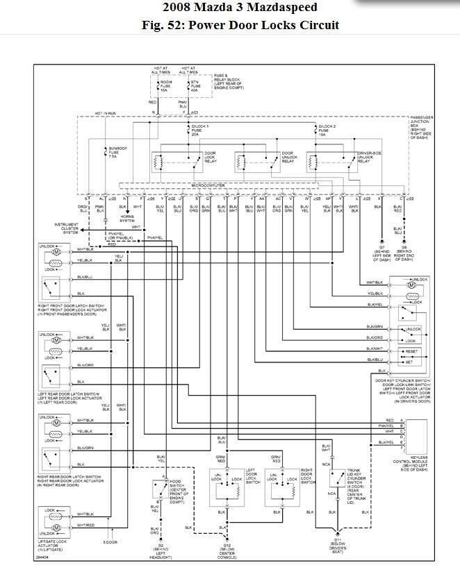 2003 Mazda Protege5 Fuse Box Wiring Schematic Diagram