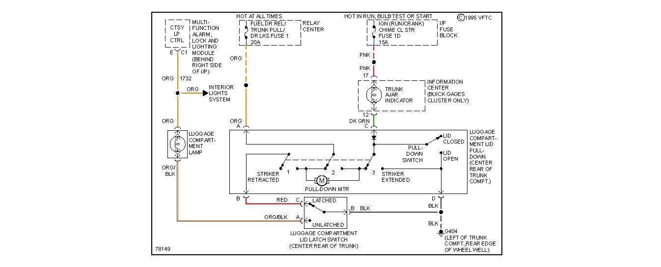 buick park avenue fuse diagram