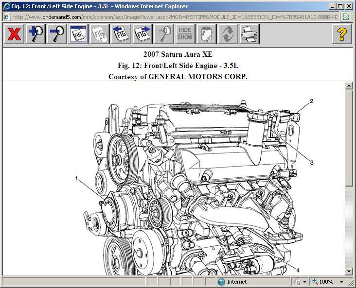 2007 Saturn Aura Engine Diagram - Wwwcaseistore \u2022