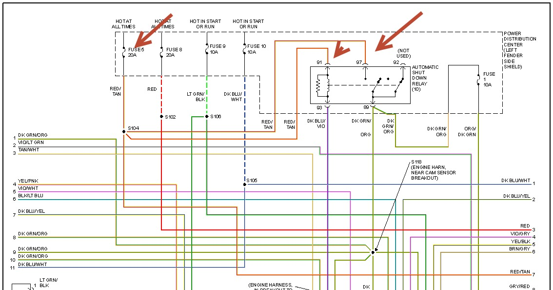 dodge stratu wiring diagram alarm