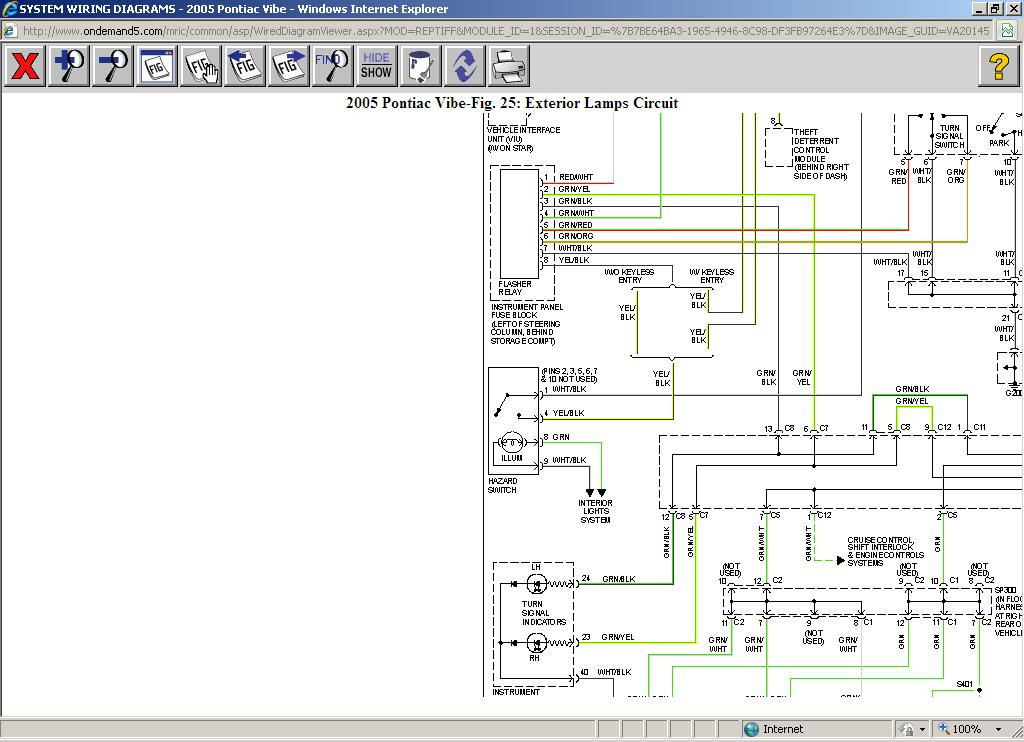 2005 Pontiac Wave Radio Wiring Diagram - Schematics Data Wiring