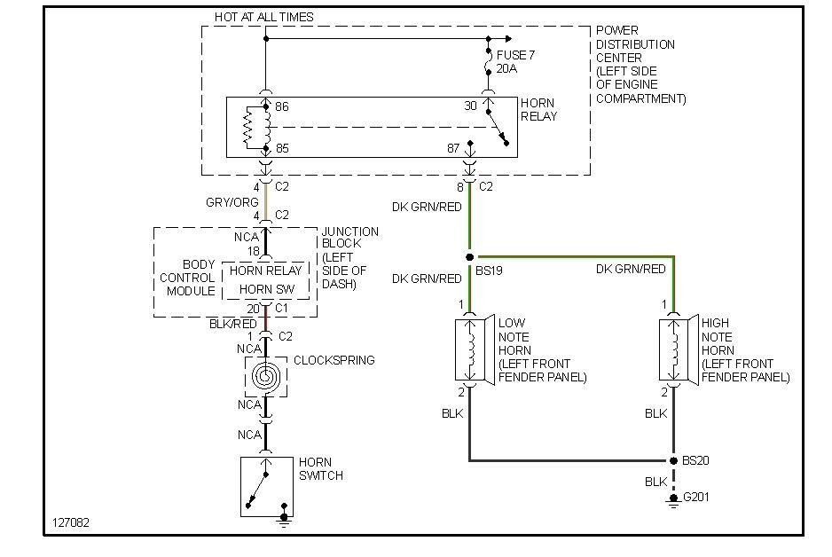Wiring Diagram For 2000 Dodge Caravan Wiring Diagram