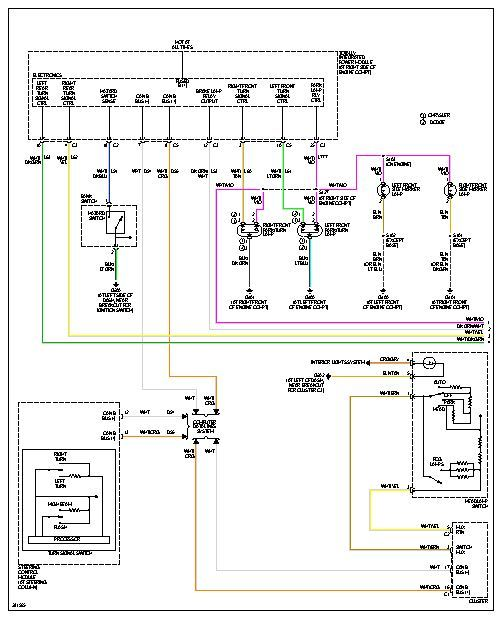 2008 Charger Fuse Panel Diagram Index listing of wiring diagrams