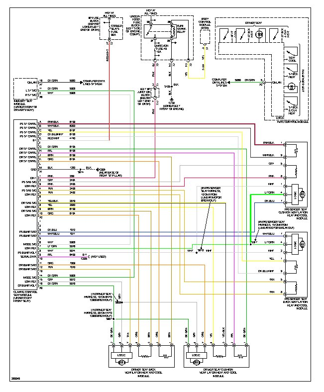 2011 Cts Heated Seat Wiring Diagram Wiring Diagram Library