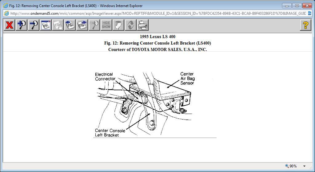 Schematics For Lexus Air Bags Wiring Diagram