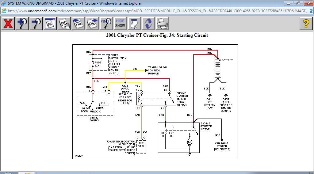 2005 Pt Cruiser Starter Wiring Diagram - Nudohugeslankaviktcenter
