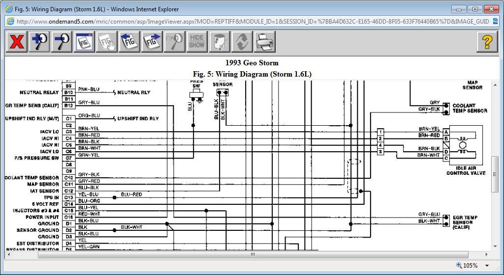 1996 Geo Tracker Headlight Wiring Wiring Diagram