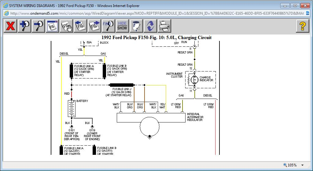 1995 Ford Alternator Wiring Diagram - Greatddnssde \u2022