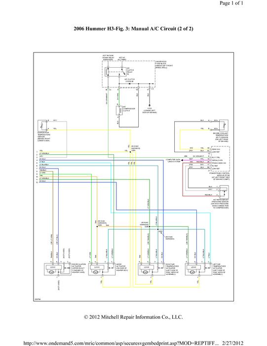 H3 Wiring Diagram Wiring Diagram 2019