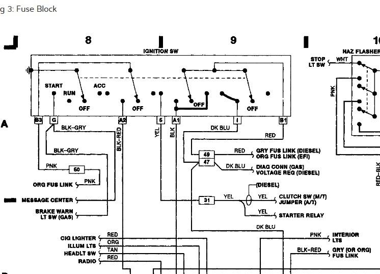 Engine Wiring 1987 Dodge manual guide wiring diagram