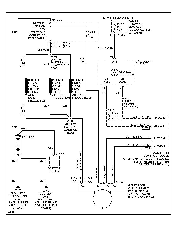 2008 ford taurus x wiring diagram