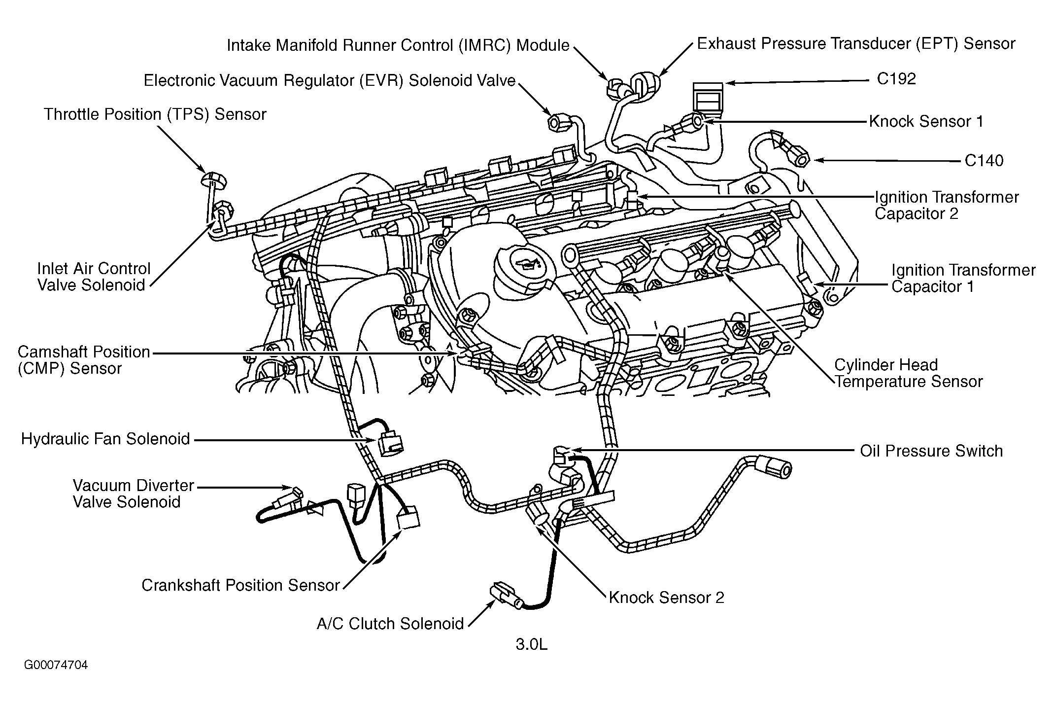 ford 4 6 liter engine cooling system diagram