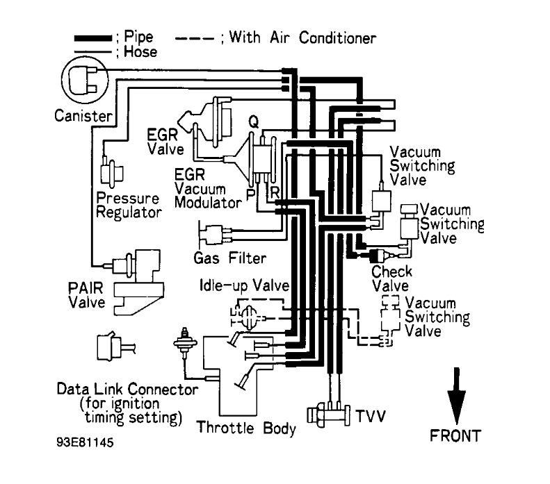 Toyota Pickup 22re Vacuum Diagram On 91 Toyota Pickup 22re Wiring
