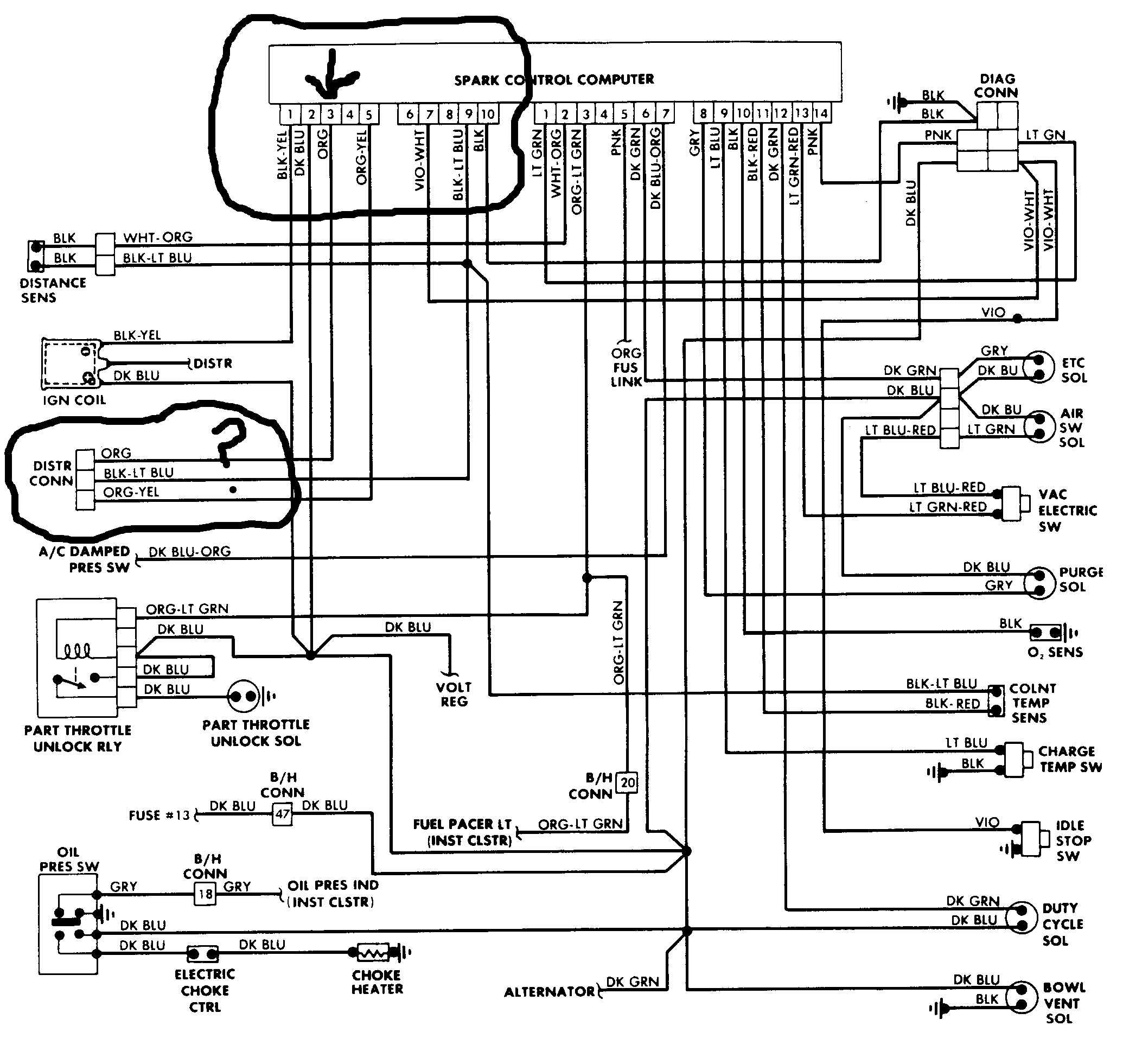 1997 dakota wiring diagram