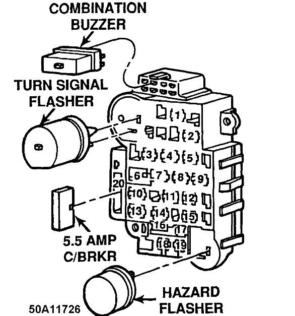1997 jeep fuel filter location