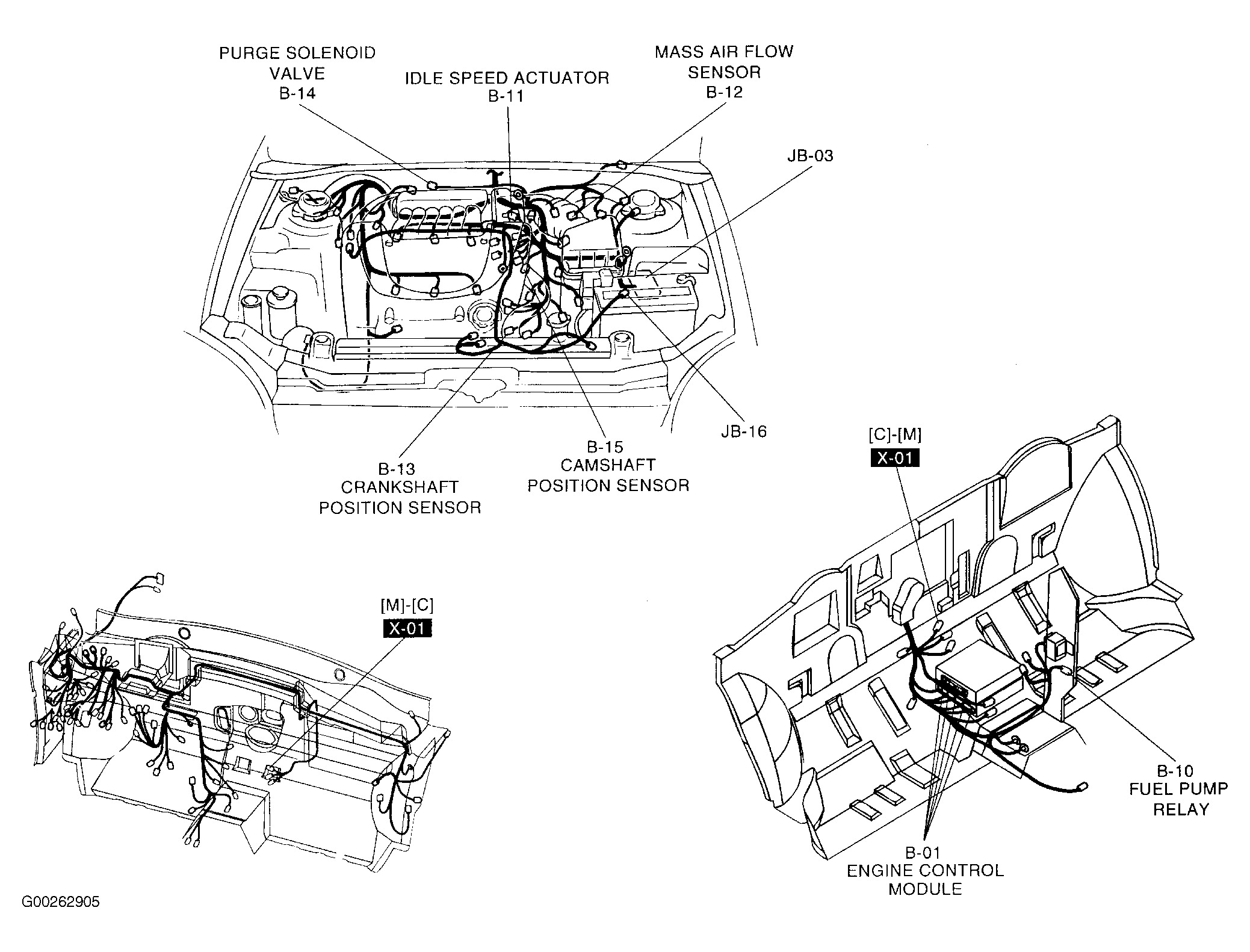 wiring diagram for camshaft position sensor
