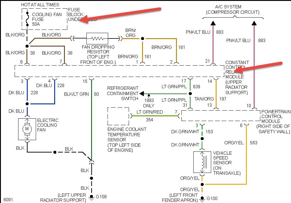 93 Taurus Wiring Diagram - Wiring Diagrams