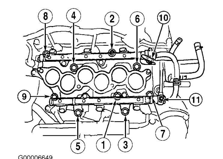 2000 toyota 4runner intake torque