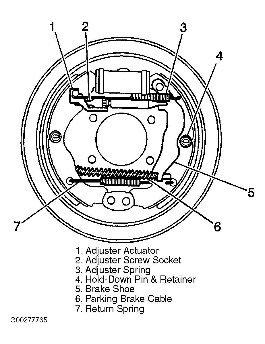 2003 saturn rear brakes diagram