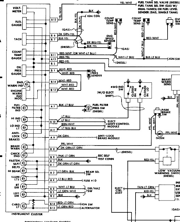 1988 ford distributor wiring diagram