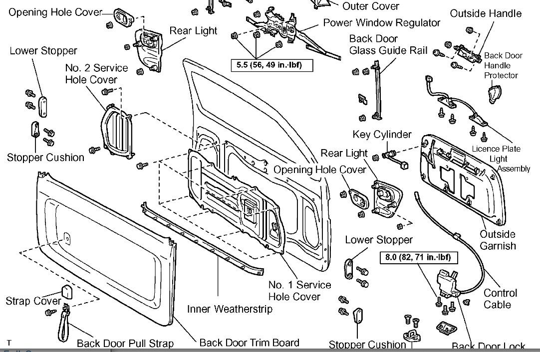 2002 toyota sequoia engine parts diagram