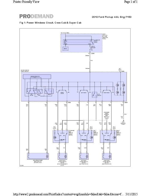 F 150 Wiring Diagram Windows Electronic Schematics collections