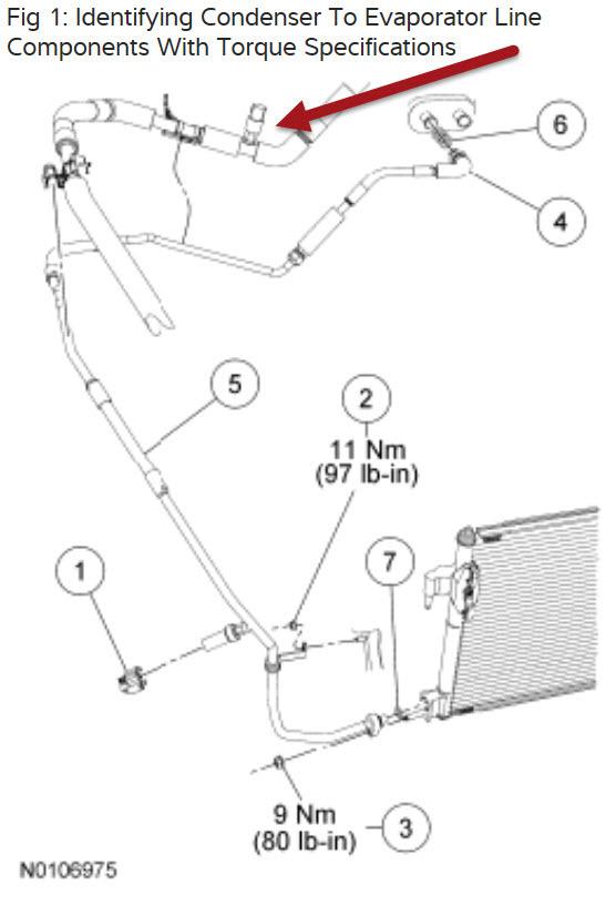 ford ac diagram