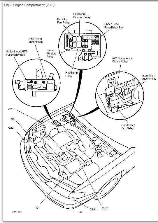 AC Relay Location? Hi There, I Need Help Locating the AC Clutch