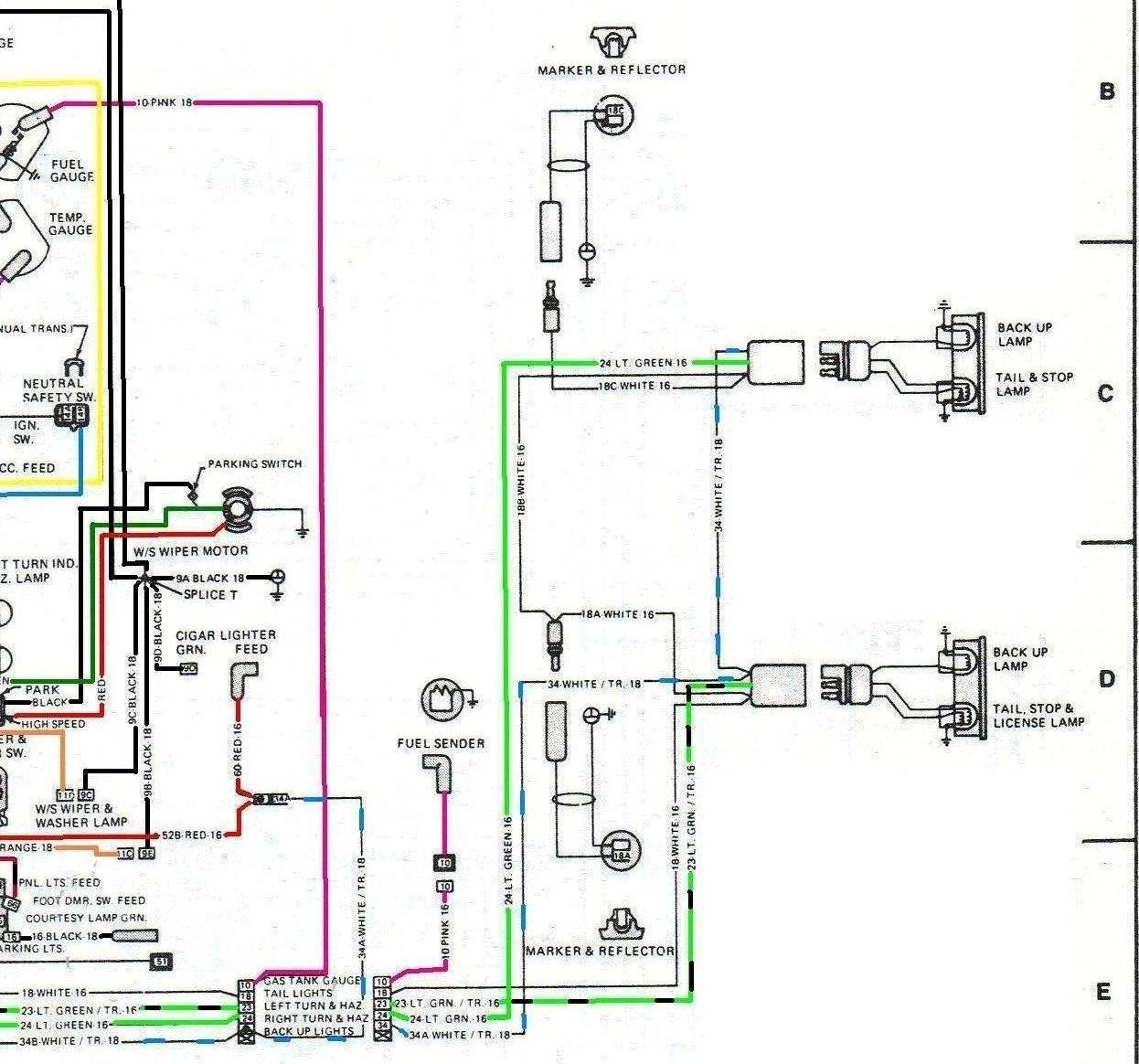 wrg 6251] jeep cj brake light wiring 1979 Jeep CJ7 Wiring-Diagram