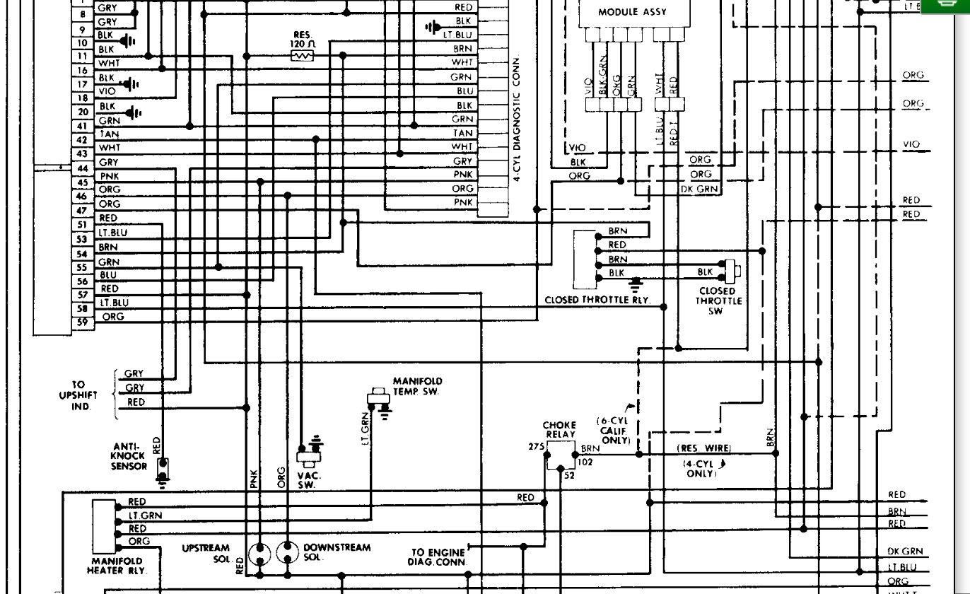1985 jeep cherokee wiring diagram