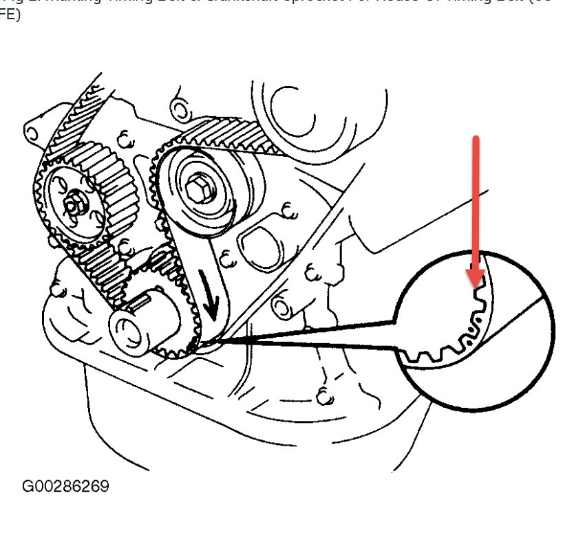 98 camry engine belt diagrams