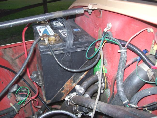 1985 Jeep CJ7 Electrical Issue so Ive Been Working on My Jeep for