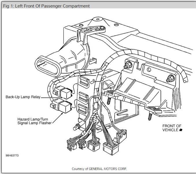 1997 buick skylark fuse box diagram