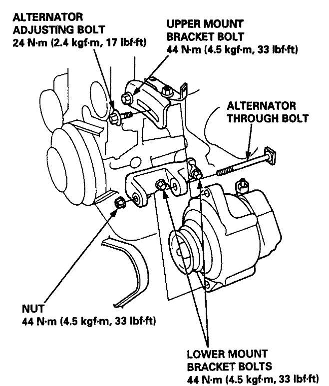 1990 honda civic seat belt diagram