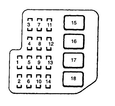 1995 Toyota Celica Fuse Box Wiring Diagram